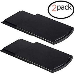 2pcs Coffee Maker Trays, Kitchen Caddy Sliding Coffee Tray Mat, 12'' Under Cabinet Appliance Coff...   Amazon (US)
