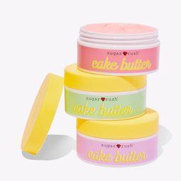 sugar rush™ cake butter whipped body butter trio | tarte cosmetics (US)