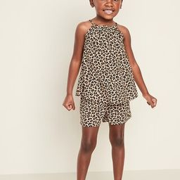 Sleeveless A-Line Top & Shorts Set for Toddler Girls | Old Navy (US)
