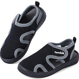 tombik Toddler Cute Aquatic Water Shoes Boys/Girls Beach Sandals | Amazon (US)