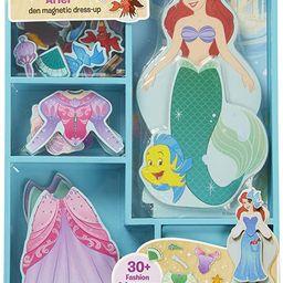 Melissa & Doug Ariel Wooden Magnetic Dress-Up Play Set | Amazon (US)