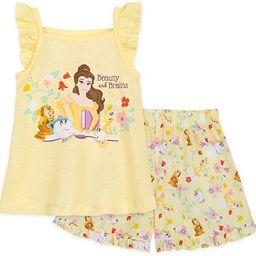 Disney Beauty and The Beast Short Sleep Set for Girls | Amazon (US)