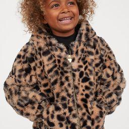 Faux Fur Jacket   H&M (US)