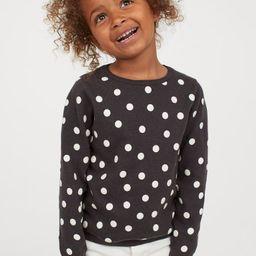 Fine-knit Cotton Sweater   H&M (US)