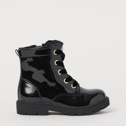 Patent Boots   H&M (US)