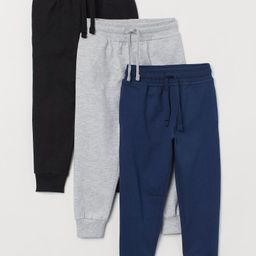 3-pack Joggers | H&M (US)