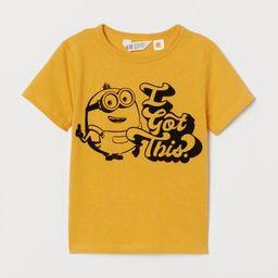 Flock-print T-shirt | H&M (US)