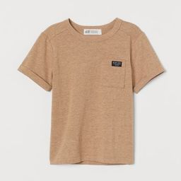 T-shirt with Chest Pocket | H&M (US)