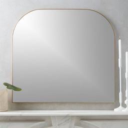 Infinity Brass Mantel Mirror + Reviews   CB2   CB2