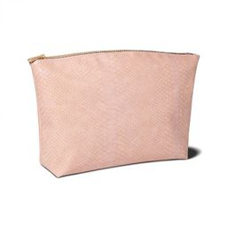 Sonia Kashuk™ Large Travel Pouch - Pink Faux Snake | Target