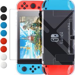 Dockable Case Compatible with Nintendo Switch, FYOUNG Protective Accessories Cover Case Compatibl... | Amazon (US)