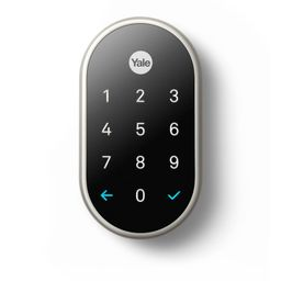 Google Nest x Yale Lock Satin Nickel with Nest Connect   The Home Depot