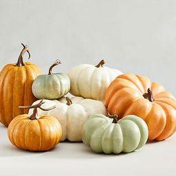 Faux Pumpkins - Sage   Pottery Barn (US)