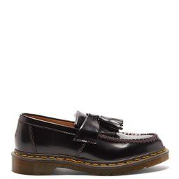 Comme Des Garçons Comme Des Garçons - X Dr Martens Adrian Tasselled Leather Loafers - Womens - Black | Matchesfashion (UK)
