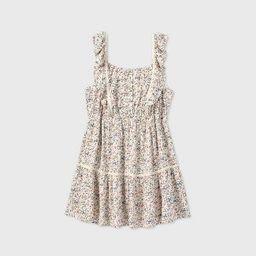 Women's Sleeveless Ruffle Apron Front Short Dress - Wild Fable™ | Target
