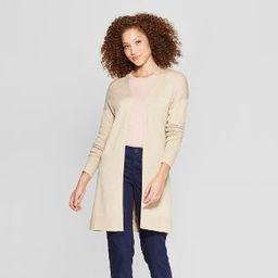 Women's Back Belt Open Cardigan Sweater - A New Day™ | Target