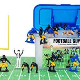 Kaskey Kids Football Guys – Blue & Yellow/Black & Gold Inspires Kids Imaginations with Endless ...   Amazon (US)