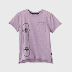 Boys' Short Sleeve Skateboard Graphic T-Shirt - art class™ Violet | Target