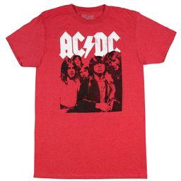 AC/DC Men's Distressed Band Members Rock & Roll Band T-Shirt   Walmart (US)
