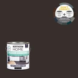 1 gal. Black Interior Floor Base Coating | The Home Depot