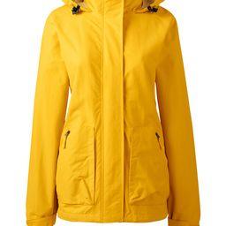 Women's Outrigger Fleece Lined Jacket - Lands' End - Yellow - XL   Lands' End (US)