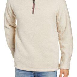 Varsity Quarter Zip Fleece Pullover | Nordstrom Rack