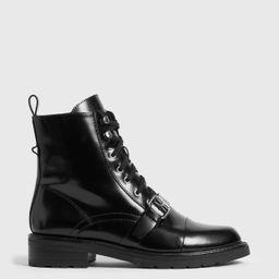 AllSaints Donita Leather Boots | All Saints US
