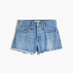 Relaxed Denim Shorts in Dunwoody Wash | Madewell