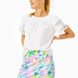 Nailah Embroidered Top | Lilly Pulitzer