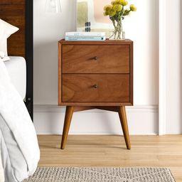 Parocela 2 - Drawer Nightstand Foundstone™ Color: Acorn   Wayfair North America