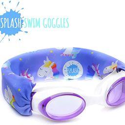 Splash Swim Goggles - Rainbow Unicorn - Fun, Fashionable, Comfortable - Fits Kids and Adults - Wo... | Amazon (US)