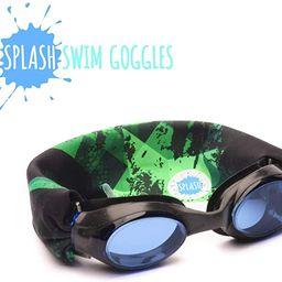 Splash Swim Goggles - Green Fusion - Fun, Fashionable, Comfortable - Fits Kids and Adults - Won't... | Amazon (US)