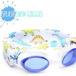 SPLASH Swim Goggles - Dino - Fun, Fashionable, Comfortable - Fits Kids and Adults - Won't Pull Yo... | Amazon (US)