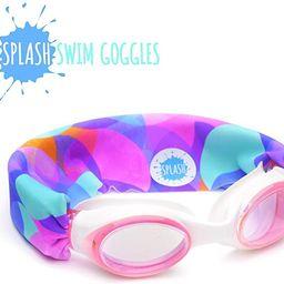 SPLASH Swim Goggles - Bubbles - Fun, Fashionable, Comfortable - Fits Kids and Adults - Won't Pull... | Amazon (US)