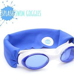 Splash Swim Goggles - Royal - Fun, Fashionable, Comfortable - Fits Kids and Adults - Won't Pull Y... | Amazon (US)