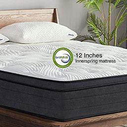 Sweetnight King Mattress in a Box - 12 Inch Plush Pillow Top Hybrid Mattress, Gel Memory Foam for...   Amazon (US)