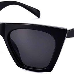 Square Cateye Sunglasses for Women Fashion Trendy Style MS51801 | Amazon (US)