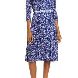 Belted A-Line Dress   Nordstrom