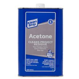 1 qt. Acetone   The Home Depot
