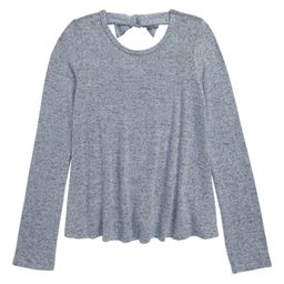 Bow Back Long Sleeve Top | Nordstrom