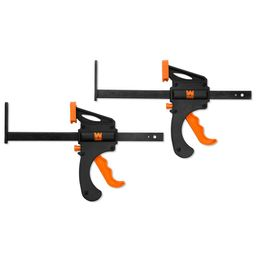 7.5 in. Quick Release Track Saw Clamps (2-Pack)   The Home Depot