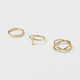 3-pack Rings   H&M (US)