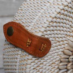Bali Rattan Bag - Round Rattan Bag - Handwoven round rattan bag - Handmade Round Rattan Bag with ... | Etsy (US)