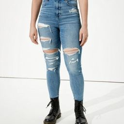 AE Ne(x)t Level Curvy Highest Waist Jegging | American Eagle Outfitters (US & CA)