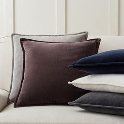 Washed Velvet Pillow Covers | Pottery Barn (US)
