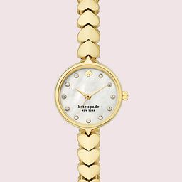 hollis gold-tone stainless steel hearts watch | Kate Spade (US)
