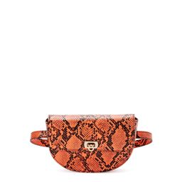 Scoop Women's Coral Faux Snake Print Belt Bag   Walmart (US)