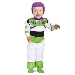 Baby Deluxe Disney Toy Story Buzz Lightyear Halloween Costume Jumpsuit | Target