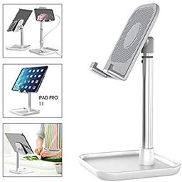 Licheers Cell Phone Stand, Adjustable Phone Stand for Desk Tablet Stand Compatible with iPad, iPh... | Amazon (US)