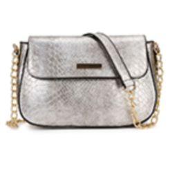 YYW Snakeskin Pattern Box Bag Shoulder Bag Fashion Ladies Crossbody Bag Purse for Prom Travel | Amazon (US)